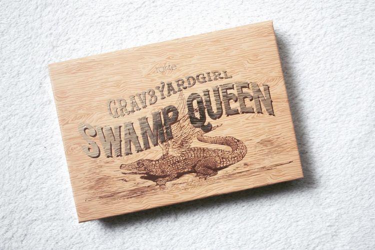 Palette Swamp Queen de Tarte Cosmetics 💄 | nelisiane .fr SwampQueen Makeup #tartecosmetics Close-up Ink