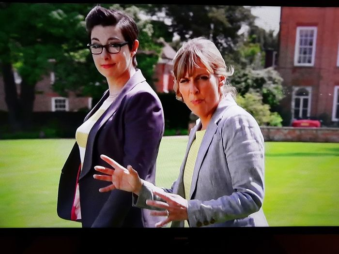 British TV A Very Brirish Scandal Tv Shows Great British Bake Off Mel&Sue