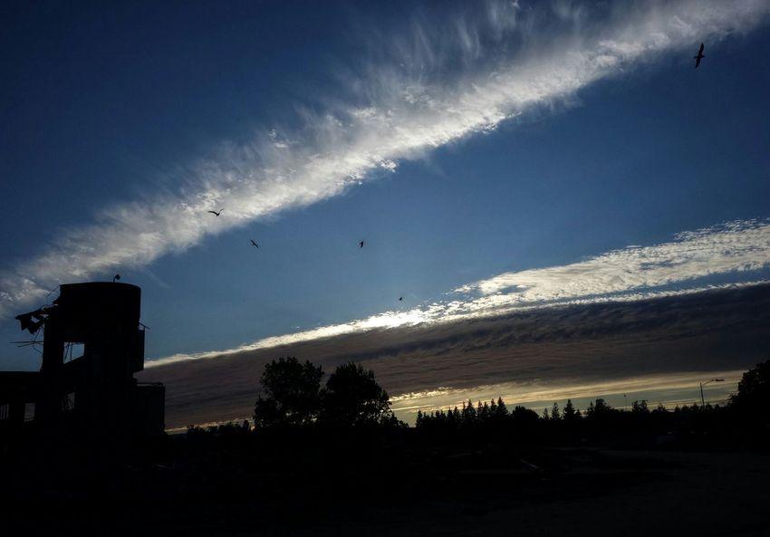Demolition Zone Clouds And Sky Dusk Demolition