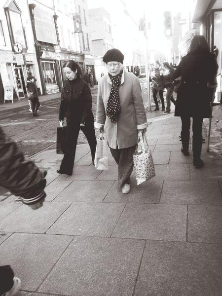 Lunch time walk Dublin Streetphotography Black & White Dublin