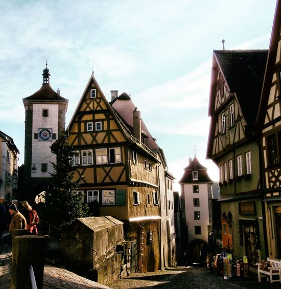 Building Exterior Charming Corners From My Point Of View Germany Rothenburg Ob Der Tauber Taking Photos TOWNSCAPE Charming Place