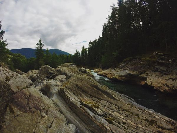 Noway River Film Rocks And Water Gopro