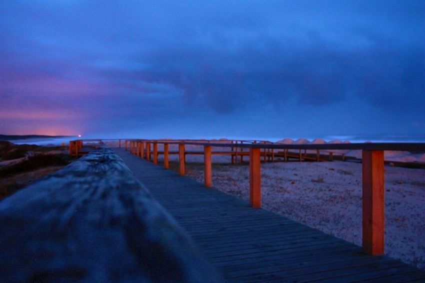 somewhere near the ocean Beach Portugal Sunset Furadouro