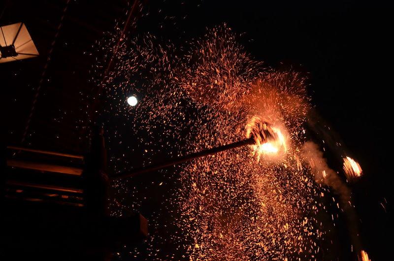 満月の夜 東大寺 二月堂 お水取り お松明 炎 Travel Destinations From My Point Of View Capture The Moment Travel Photography Night Photography Nigatsu-do Toudaiji Omizutori Traditional Event Low Angle View Lights Night Lights Moon Fire March 2017 Light In The Darkness EyeEm Best Shots The Purist (no Edit, No Filter) 3月10日の東大寺二月堂のお水取り(お松明)。毎年観に来てる同僚と観てきました。1250年以上続いているという仏教行事、とても素晴らしかったです♬