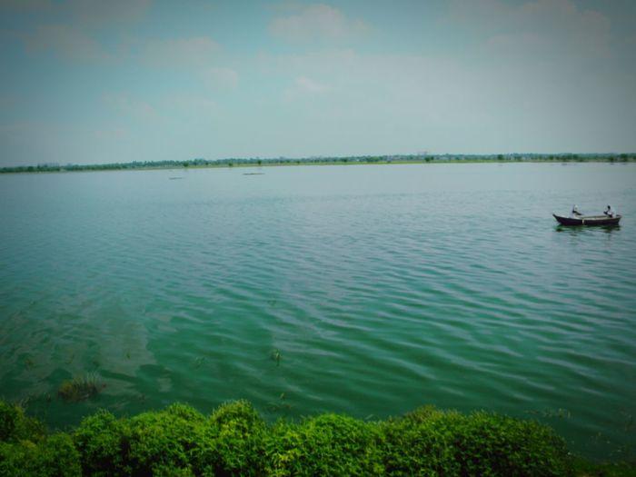 Noata the lake in jaipur ..extremly wondered