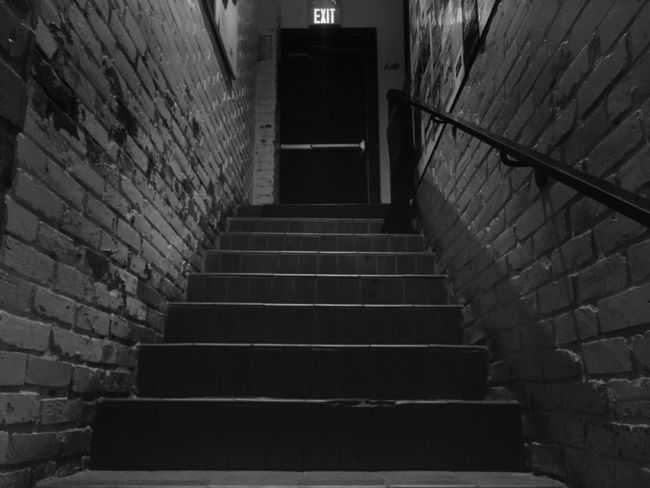Sometimes you have to... Steps Steps And Staircases Stairs No People Stairway Bw_collection EE_Daily: Black And White EyeEm Masterclass EyeEmBestPics Bw_lover Shootermag Inspirations Everywhere. EyeEm Gallery EyeEm Best Shots - Black + White EyeEm Best Shots Light Light-Play Blackandwhite Black And White Tranquil Scene What Who Where Low Angle View