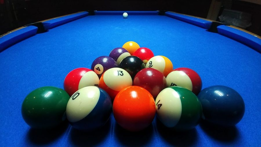Sport Pool Ball Table Pool Table Pool - Cue Sport Multi Colored Leisure Games Leisure Activity Billards  Billard Table