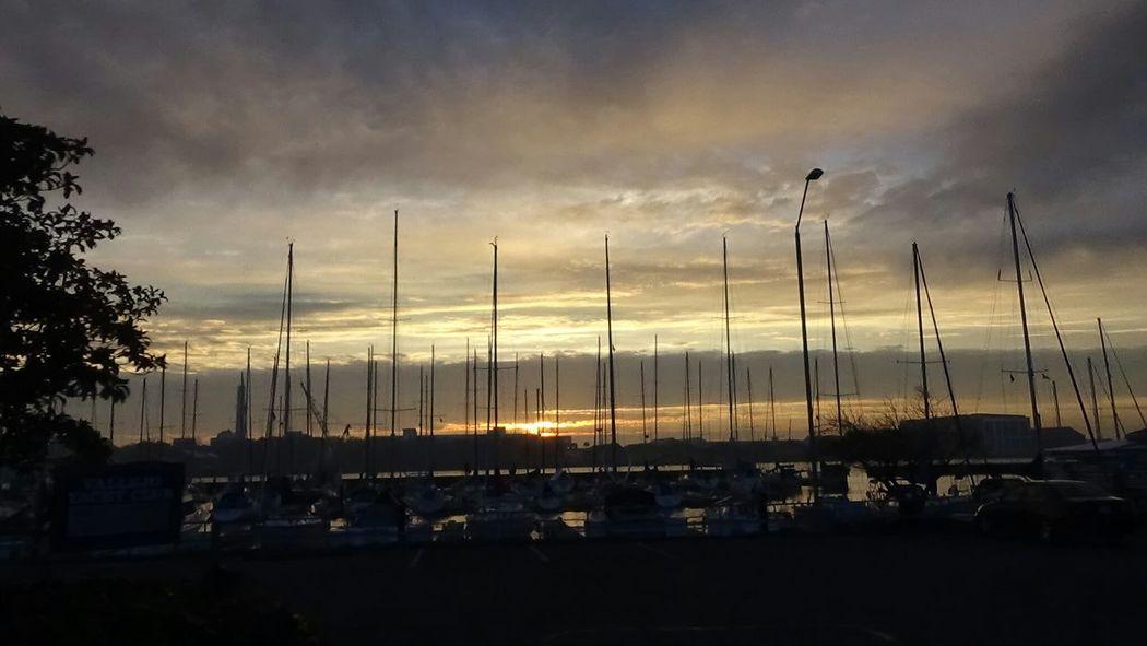 Mare Island Navel Shipyard. Yacht Club Vallejo Ca Fog_collection Vallejo Waterfront Foggy Night Bayarea Sunset Eyeem Northen California