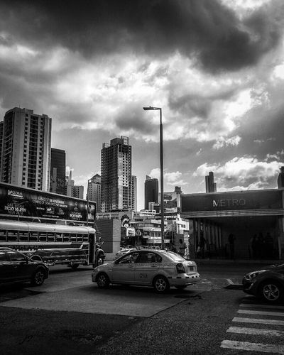 City Delusionsj2 Black And White Streetphotography Blackandwhite Monochrome Photography Panamá Check This Out Blackandwhitephotography Mode Of Transport Fantastic Exhibition Embrace Urban Life Tourism Enjoying Life Travel Building Exterior
