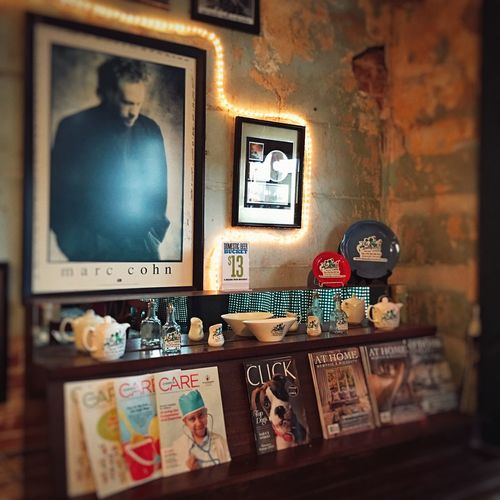 Interior, The Hollywood Cafe. Mini Shoot Project. Cafe Robinsonvillems Bluesmusic Eatery Interior Hollywoodcafems