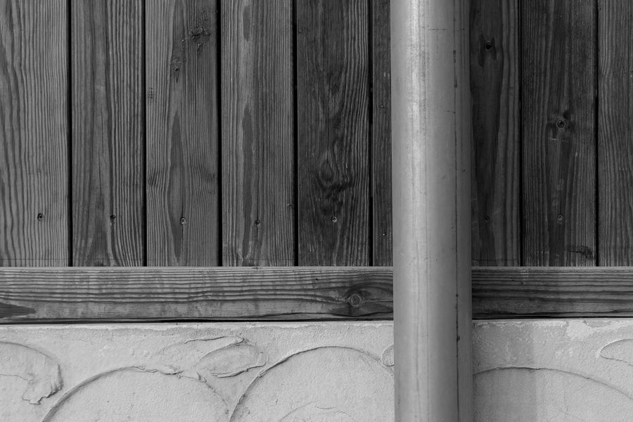Wood - Material No People Day Pattern Architecture Close-up Outdoors Wall - Building Feature Textured  Built Structure Wood Plank Barrier Fence Metal