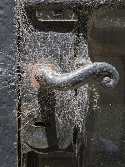 Close-up Door Metal No People Old Recoleta Recoleta Cemetery Rusty Spiderweb