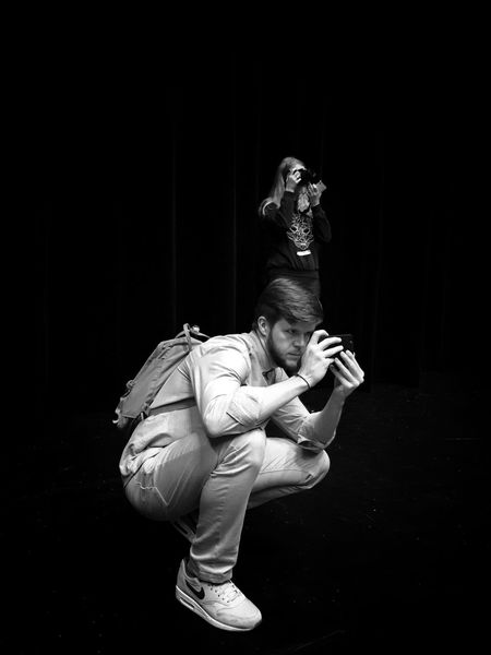 Photo Passionates Wejherowo 5 December 2015 Iphone 6 Plus IPhoneography People Photographers Dark EyeEm Masterclass EyeEm Best Shots Streetphotography Streetphoto_bw Wejherowo Poland IPS2016Street IPS2016People