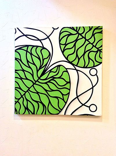 Northern Europe Fabric Board Fabric Detail Marimekko Handmade Interior Art Fabric Bottna マリメッコ Fabric Board Northern Europe Art And Craft Creativity Green Color No People Pattern Plant Indoors  Nature Wall - Building Feature Craft Tree White Color Close-up Activity Design