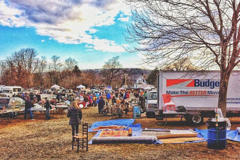 At the car boot..... Large Group Of People Bare Tree Sky Men Text Western Script Standing Communication Leisure Activity Cloud - Sky Person Lifestyles Tree Small Business Crowd Day Retail  Vacations Casual Clothing Outdoors Car Boot Sale Connecticut New England  October