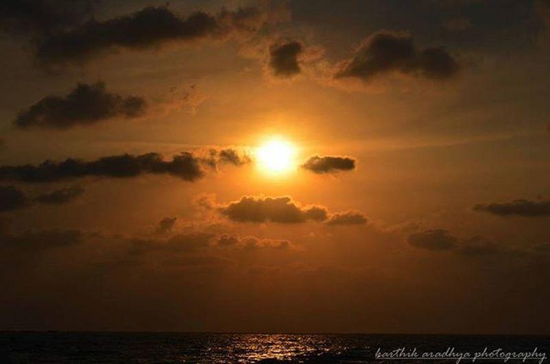 Karthikaradhyaphotograpghy Amazing Sunset Malpe Feeling Good