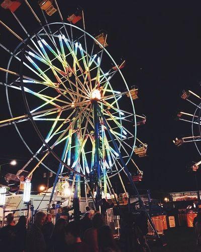 Ferris Wheel Fair Canfieldfair Summer Memories 🌄