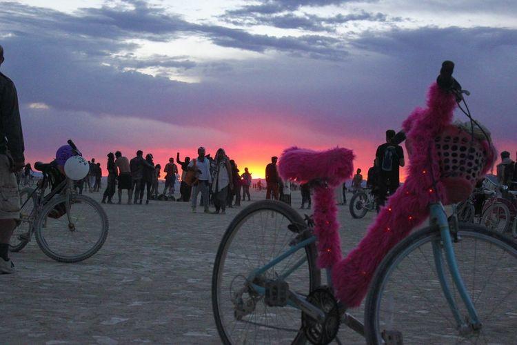Burning Man Sunrise Magic Paradise