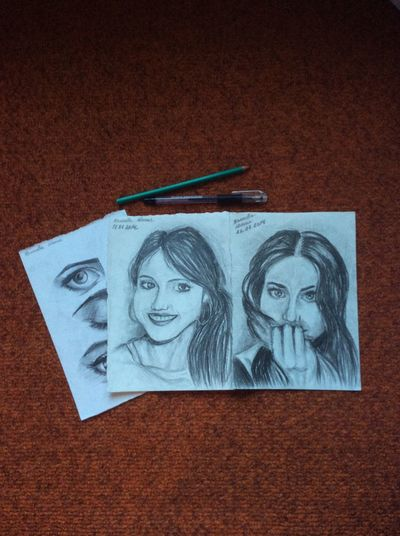 Portraits. My Art