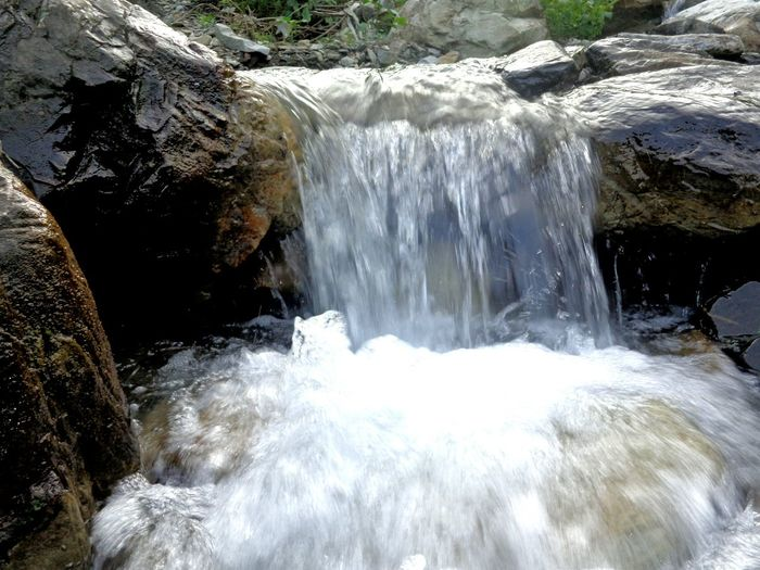 Motion Waterfall Long Exposure Flowing Beauty In Nature