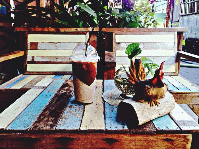Coffee shop in Bangkok. Drinks Traveling Location Coffee Shop