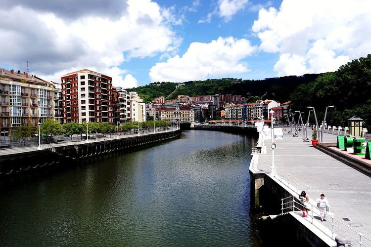 Beautiful city Bilbao Vanlife Vanlifediaries Roadtrip Cityscape Bilbao Bilbaolovers Beautiful City Travel Travel Destinations Love Spain Northspain Magic Moments Water City Multi Colored Sky Architecture Building Exterior Cloud - Sky Waterfront River Riverbank Bridge Bridge - Man Made Structure Riverside Summer Road Tripping The Traveler - 2018 EyeEm Awards EyeEmNewHere My Best Travel Photo Holiday Moments It's About The Journey
