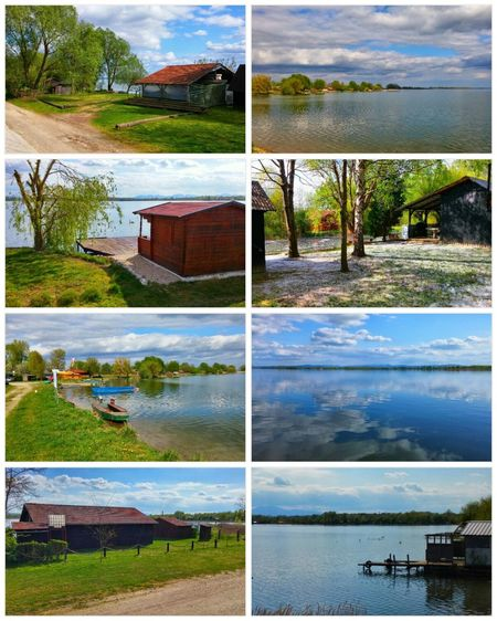 Afternoon walk by the lake. Showcase April Springtime Colors Beautiful Day Croatia ♡