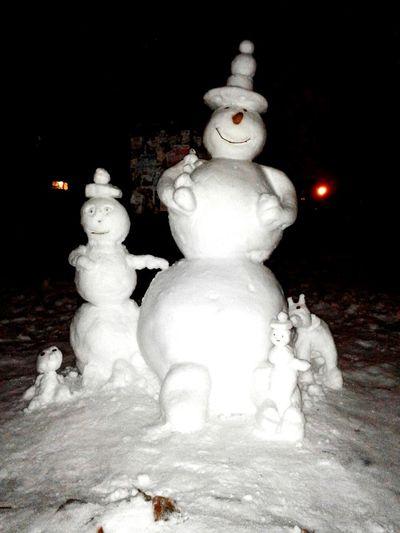Снежная семейка))