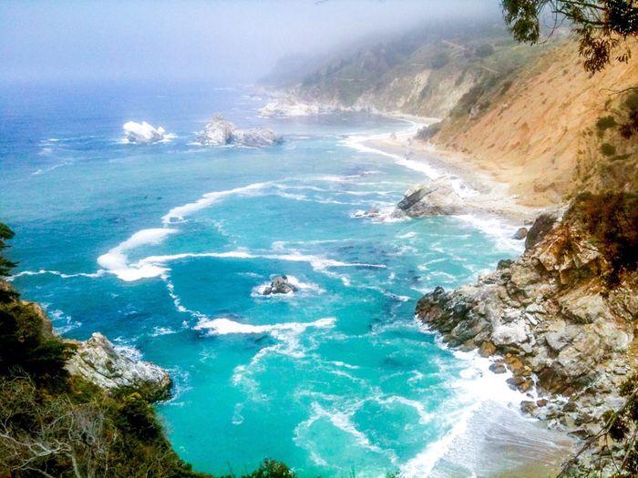Bigsur Coastline California Ocean