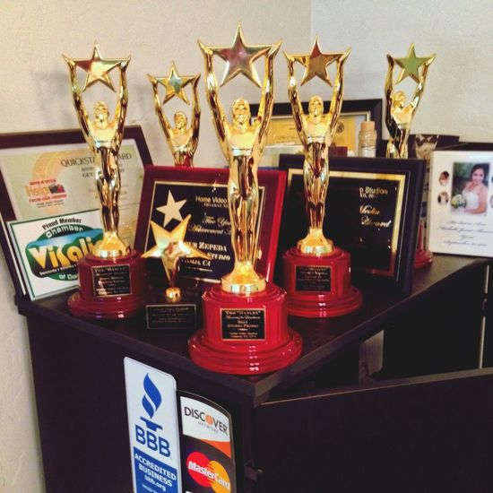 Welcome to the family! Hanley award number 5! Enjoying Life Visalia Believe Hvs