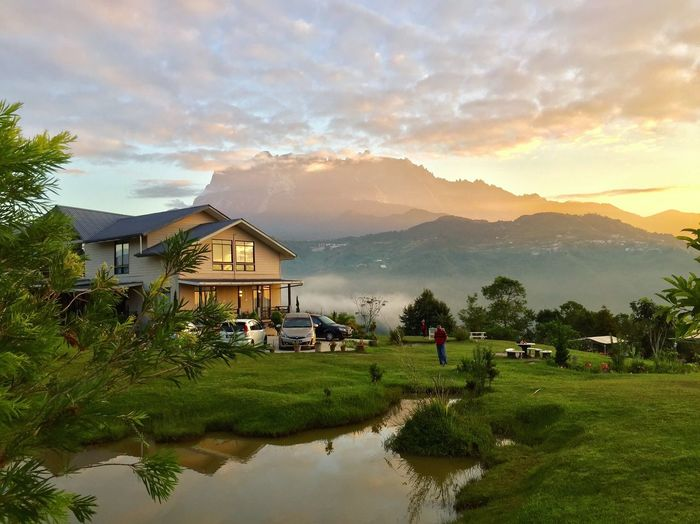 My Favorite Photo The Week on EyeEm Editor's Picks The Week on EyeEm Sabah Travel Photography Vacation Thebest_capture Lovely Weather Photooftheday Water Architecture Building Exterior Built Structure Sky Building Beauty In Nature Cloud - Sky Reflection Lake Mountain House Mountain Range EyeEmNewHere A New Beginning Tourism Malaysia 2018 In One Photograph