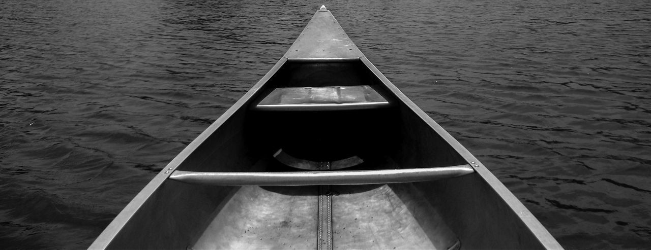 Alluminum Canoe Canoeing Lake View Waterscape Shades Of Grey Monochromatic Check This Out Blackandwhite Black And White Photography Black And White Collection  Black And White Nature Water_collection OpenEdit Beauty In Nature Light And Shadow Waterporn Check This Out One With Nature Solitude
