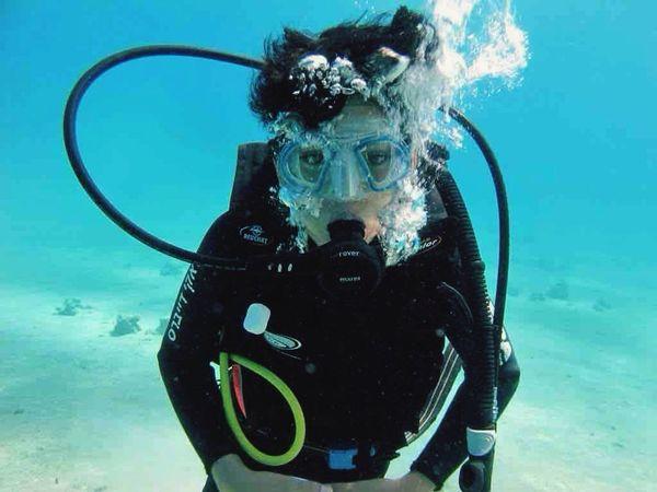 Scuba Diving Red Sea Diver