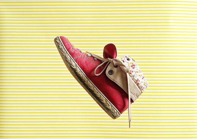 Couple Creativity Fashion Hanging Red Chucks Close-up Creative Day Flying Footwear Footwears No People Shoes Sneaker Sneakers Sport Sports Still Life Used