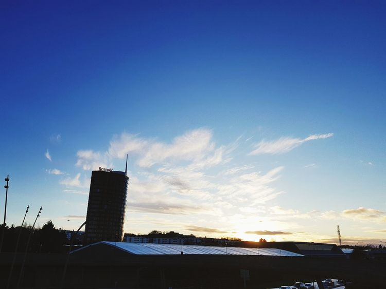 Architecture Building Exterior Built Structure No People Outdoors Sunset Sky