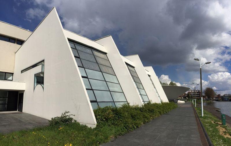 Architecture école D'ingenieur Veloroute Somme Esiee