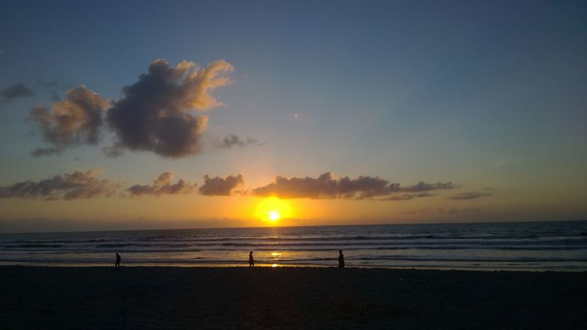 Clouds And Sky Cocoa Beach Color Dream Florida Life Sand & Sea Sea Sun Sunrise