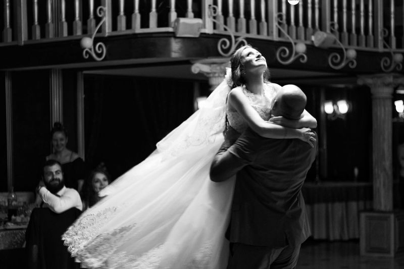 Soaring on Happiness Bride Wedding Celebration Love EyeEm Best Shots Blackandwhite EyeEm Best Shots - Black + White Beautiful Woman
