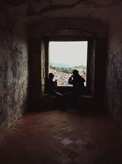 Father and son Travel Destinations EyeEm Gallery Photographer Paiefilho Fatherandson Castle Two People Day Sitting Friendship Sky People
