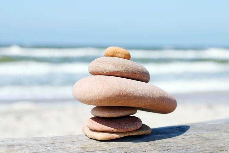 Showcase March Stones Rocks Ballance Heap Stack Pebbles Beach Nature Tower Built Structure Built