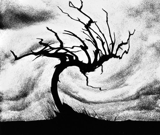 Tree Silhouette Abstract Tree Sillouette Swirl Abstract Photography Blackandwhite Photography Black & White Grainy Images Moodyphotography Tree_collection  No People Shades Of Grey Monochrome Black And White Darkroom Magic Darkroomphotography Darkroom Fun Artistic Artistic Photo Art Photo Art Black And White Photography Abstract Black&white Pivotal Ideas TakeoverContrast