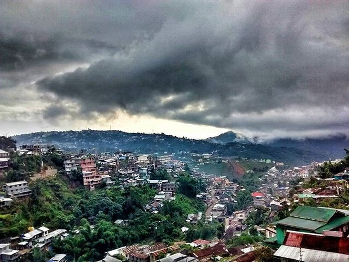 This morning bedside window view just never seems to tire me. OnlyInNagaland Bedside  Nagaland Kohima Cloudy Peace SunriseAndStuff