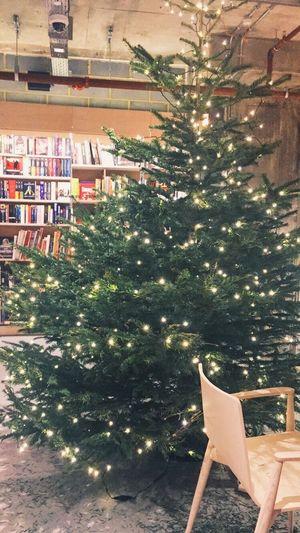 Christmas Tree Waterstones Books London Centrallondon