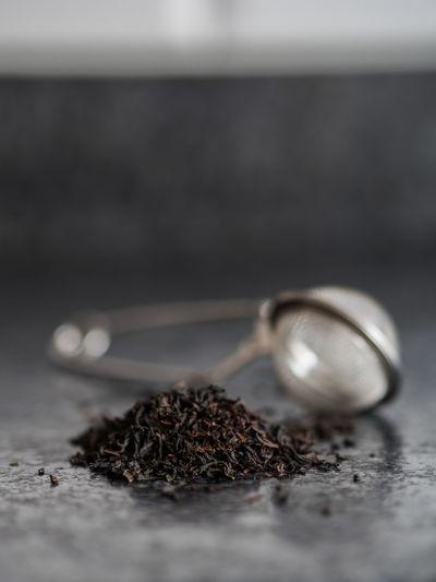 Earl grey tea on granite. Filter Raw Tea Earl Grey Earl Grey Tea Granite Tea Cup Tea Filter