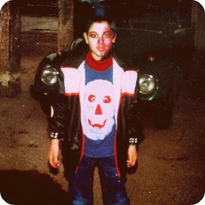 Me as a punk in purim 1988