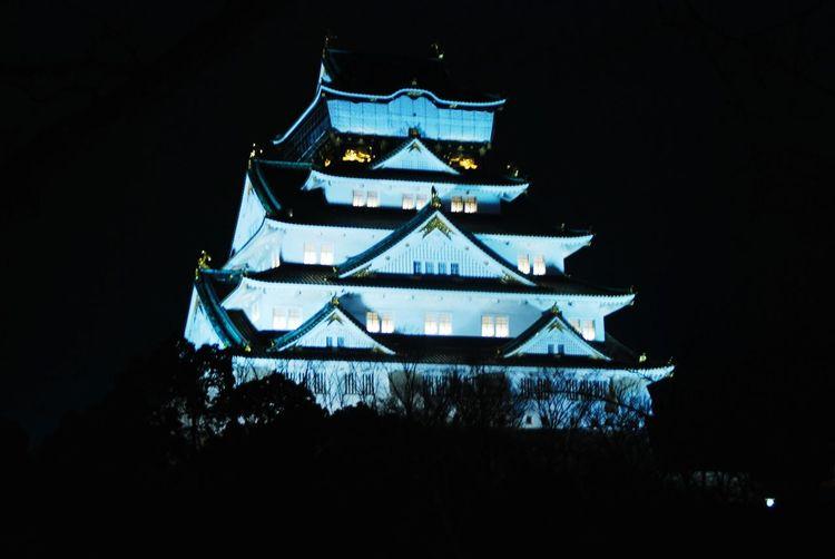 Night 大阪城 Oosaka