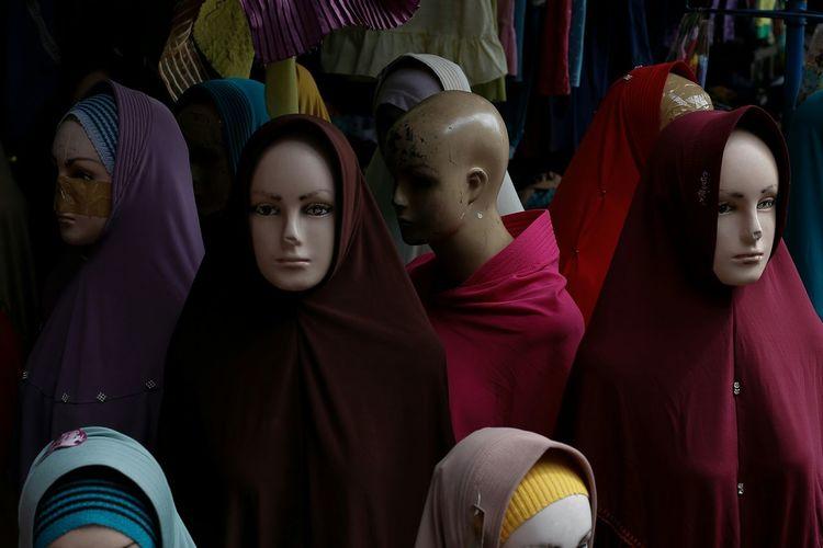 among hijab