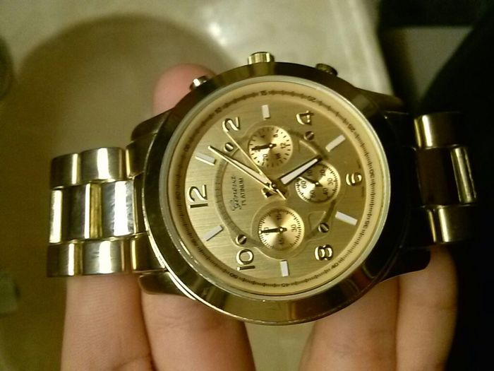 Gold All In My Watch C: