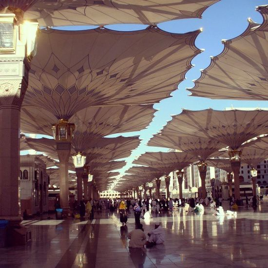Saudi Arabia Masjid Islam Islamic Architecture Islamic Architecture Almadinah Almadina Almonawara Almadenah Mosque ISLAM♥ Islamic Art Muslim People Prayers Pray Time Pray Masjed Alrasoul Prophet Muhammad ProphetMuhammad Prophet Mohammad Interior Design Interior