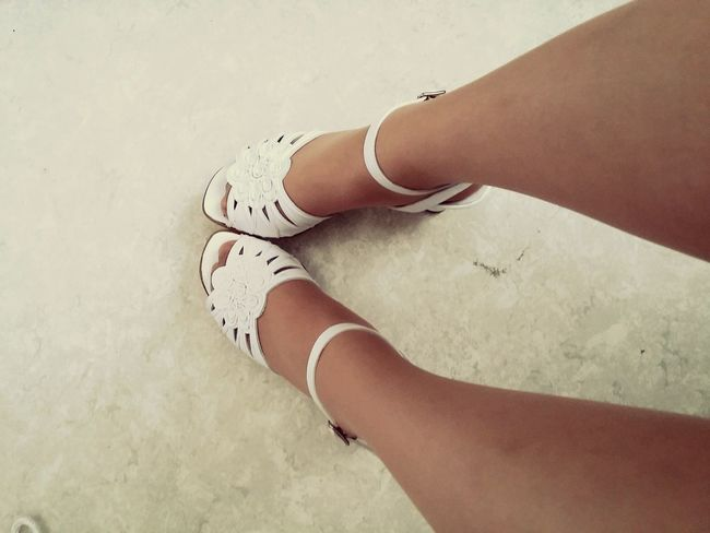 Shoes Wedding Party White